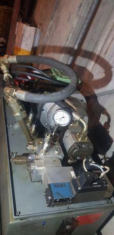 Agregat hydrauliczny pompa hydrauliki zasilenie prasa luparka