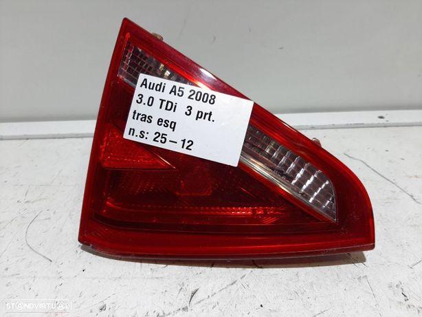 Farolim da mala Esq Usado AUDI/A5 Coupé- cabrio (8T3)/2.0 TDI | 08.08 - 03.12 RE...