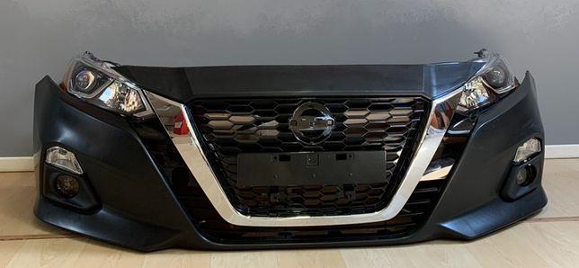 Nissan Altima 2019 бампер решетка радиатора фары капот крышка багажник