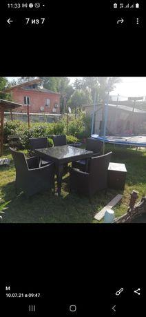 Мебель для дачи и сада из ротанга