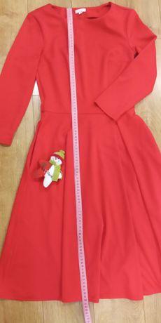 Плаття міді червоного кольору