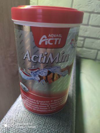 Pokarm dla rybek AQUAEL ACTI ActiMin