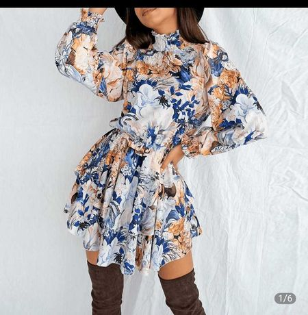 Sukienka Kwiaty Boho