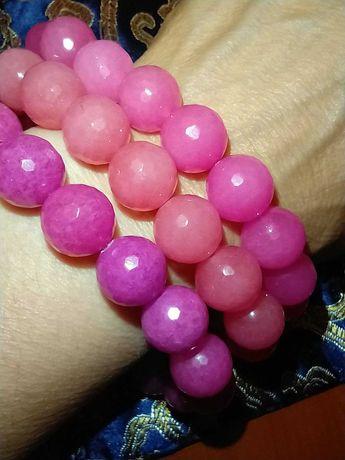 Браслет из розового родохрозита японской фирмы Sukie