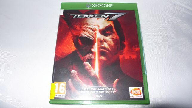 Gra do XBox One Tekken 7 nowa folia