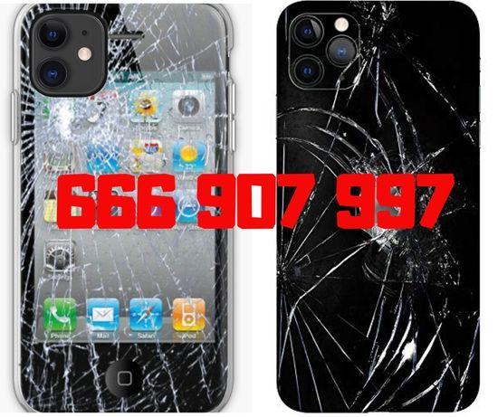 Wyświetlacz Ekran Szybka Bateria Głośnik iPhone SE 6S 7 8 X XS Wymiana