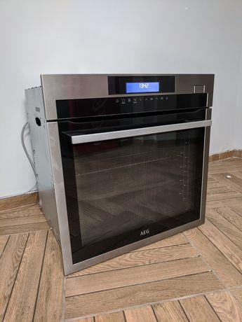 2В1 Духовой шкаф+Пароварка AEG духовка з паром з Германии
