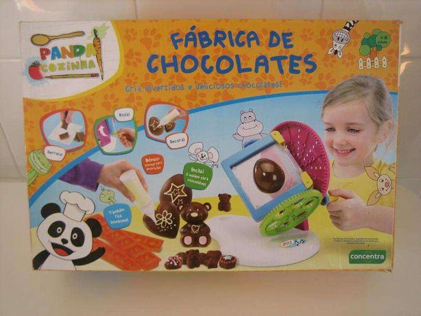 Fábrica de chocolates do Panda Cozinha