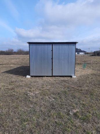 Schowek blaszany wiata 3x5 garaż blaszak - producent