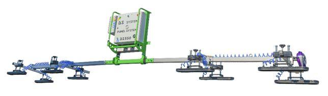 Chwytak Przyssawka próżniowa do płyt warstwowych DS550 600 kg