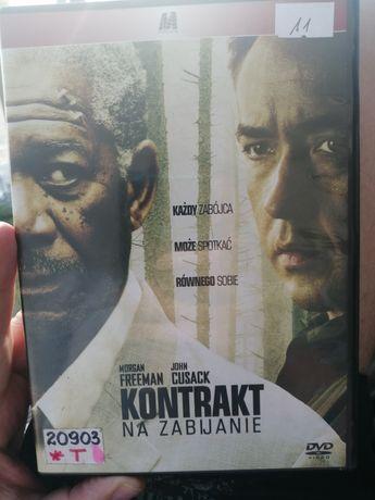 DVD, Kontrakt na zabijanie, Freeman & Cussack, film akcji