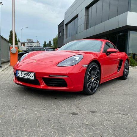 Wynajem samochodu Porsche Cayman 2020 rok - Wypożyczalnia