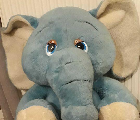 Maskotka xxl niebieski słoń