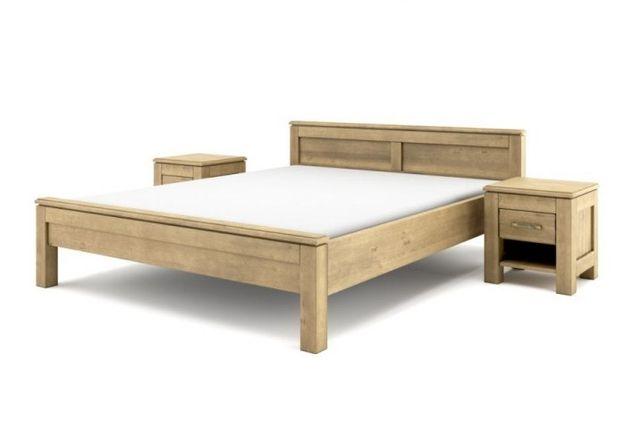 Drewniane łóżko Vintage 160x200 (bez szafek nocnych) dostawa cały kraj
