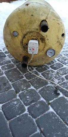 Bojler wymiennik ciepla c.o.100 l +grzalka elektryczna