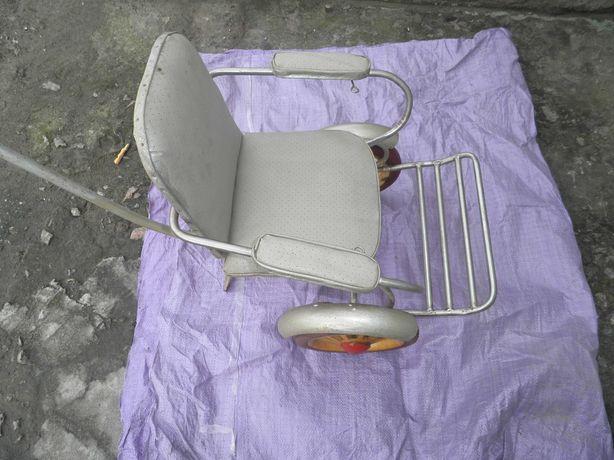 Детская коляска, каталка для перевозки детей Ретро СССР