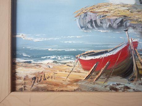 """Картина маслом """"Средиземноморский пейзаж"""" Испания"""