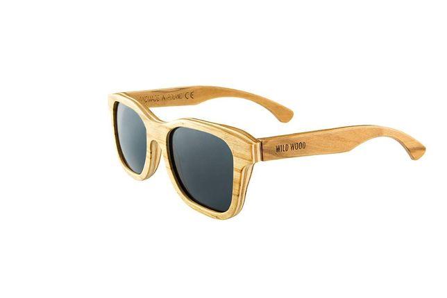 Drewniane okulary przeciwsłoneczne z dębu
