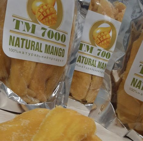 Манго сушеный ТМ 7000 натуральный 500г