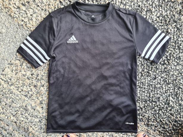 "Koszulka piłkarska ""Adidas"" czarna roz. 140"