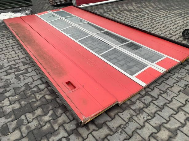 brama segmentowa garazowa Crawford przemyslowa 4,78 x 2,50