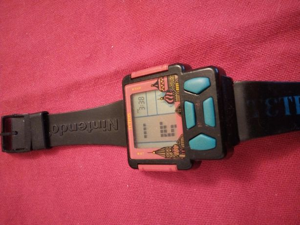 Zegarek Nintendo Tetris