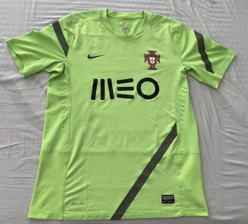 NIKE Seleçao Portuguesa Futebol   PORTUGAL T Shirt Treino MEO