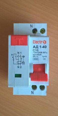 выключатель (автомат) Electro АД 1-40,30 мА