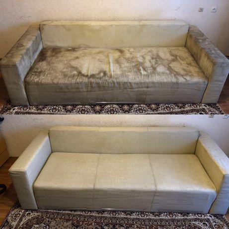 Химчистка мягкой мебели, диван, стул, кресло, матрас, кровать