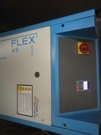 ALMG FLEX DRIVE 4S 5,5kw,sprężarka śrubowa,na falowniku