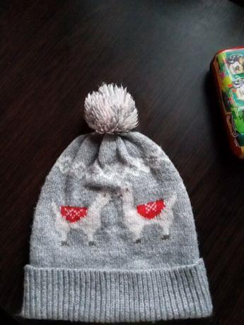 Серая шапка идеальное состояние