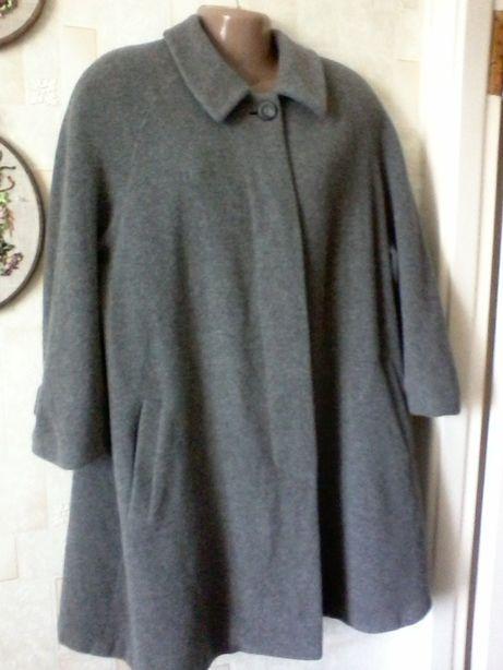 Шерстяное пальто, шерсть от basler, разм.50