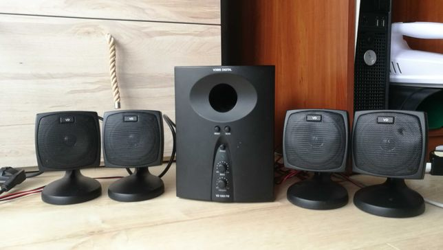 Głośniki 2.1 (4.1) Vobis Digital VD 1000 FM