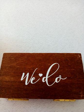Pudełko na obrączki 10x5,5cm