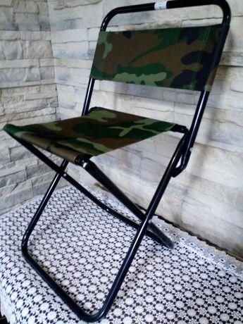 KRZESŁO TURYSTYCZNE krzesełko wędkarskie składane