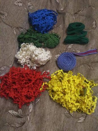 Ленты-змейки ленты для шитья оборочка
