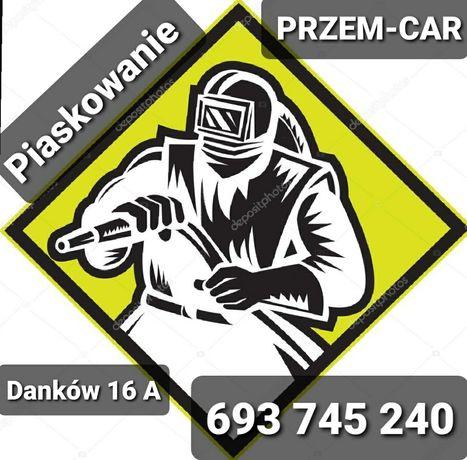 Piaskowanie mobilne i stacjonarne Szkielkowanie Czestochowa Wreczyca