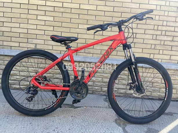 Велосипед алюминиевый PHOENIX 26 дюймов рама 17 горный скоростной MTB