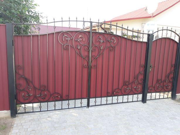Решетки,Ворота,Заборы,Навесы,Сварочные работы