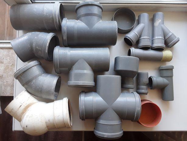 Пластиковая канализация, фитинги, фасонина