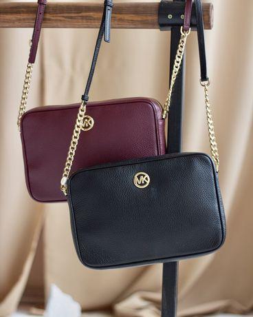 Продам сумки MICHAEL KORS Fulton Large Pebbled Leather Crossbody Bag