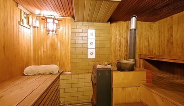Русская баня, банька, сауна, баня на дровах, лазня, дом с баней