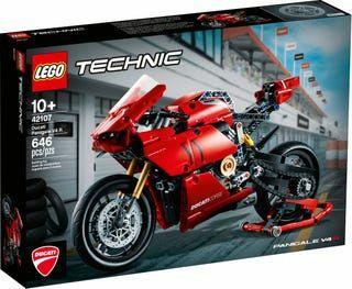 Lego Technic Ducati nova montada