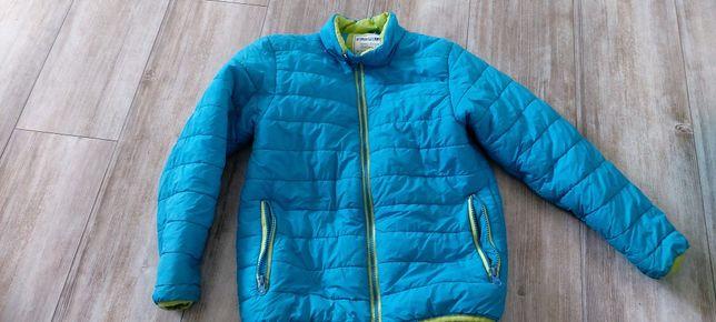 Śliczna kurtka na wiosne dla chłopca r.140