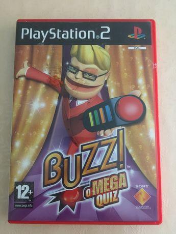 Buzz o mega Quiz PT - Playstation 2 Sony