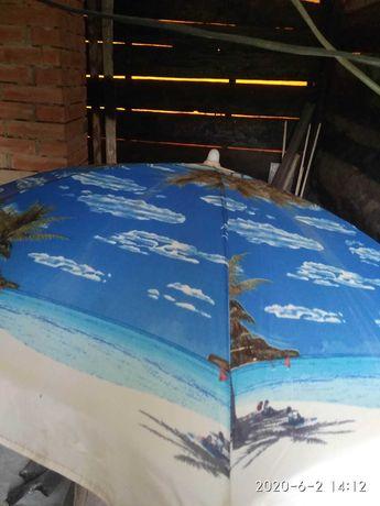 Продам пляжный зонтик раскладной