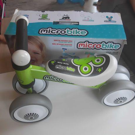 Micro bike Milly Mally - zielony, żabka.