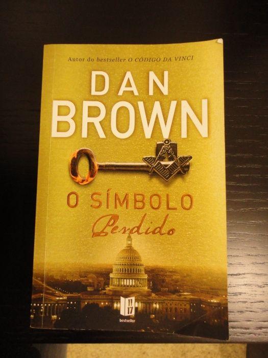 "Livro de bolso DAN BROWN ""O Símbolo Perdido"""