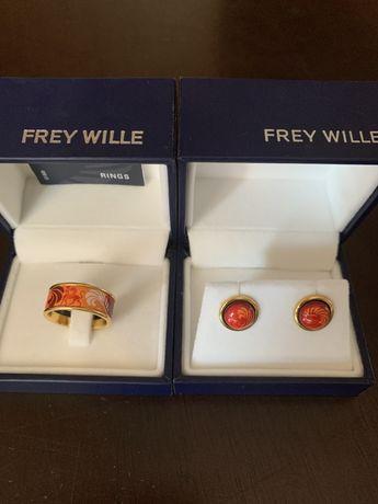 Frey wille Кольцо серьги