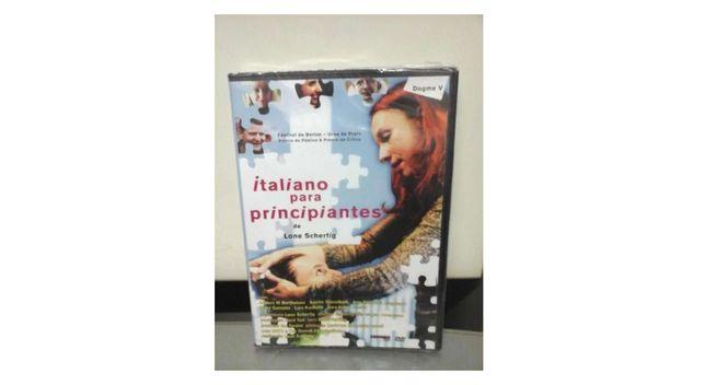 NOVO Dvd Italiano para Principiantes PLASTIFICADO SELADO Filme Entr JÁ